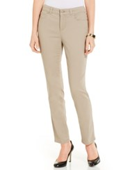 Charter Club Bristol Skinny Ankle Jeans Only At Macy's Almond Latte