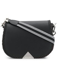 Emporio Armani Weave Shoulder Bag Black