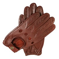 Dents Mens Classic Leather Driving Gloves Tan