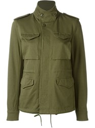 Nlst Cargo Pocket Jacket Green