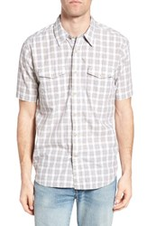 True Grit Men's Soho Plaid Cotton Sport Shirt