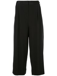 Tibi Cropped Pants Black