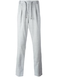 Brunello Cucinelli Pleat Detail Trousers Grey
