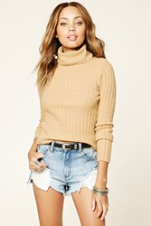 Forever 21 Turtleneck Sweater Top