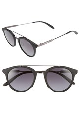 Carrera Women's 126 49Mm Sunglasses Black Dark Ruthenium