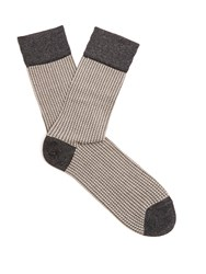 Falke Wicker Cotton Blend Socks Grey Multi
