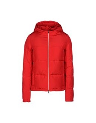 George J. Love Down Jackets Red