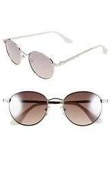 Women's Isaac Mizrahi New York 51Mm Sunglasses Gold