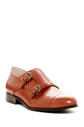 Sam Edelman Balfour Leather Double Monk Strap Oxford Brown
