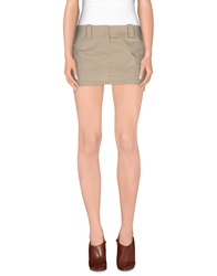 Guess By Marciano Mini Skirts Beige