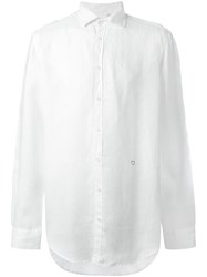 Massimo Alba 'Canary' Shirt White