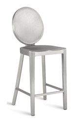 Emeco Kong Counter Stool Gray