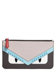 Fendi Bugs Leather Coin Purse