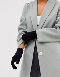 Pieces Touch Screen Gloves In Black