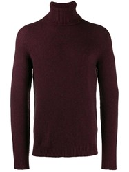 Nuur Turtleneck Jumper Red