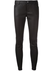 Desa 1972 Skinny Cropped Trousers Black