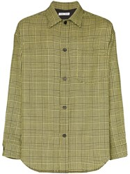 Cmmn Swdn Prince Of Wales Checked Shirt Black