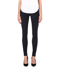 Warehouse Super Skinny Mid Rise Jeans Blue