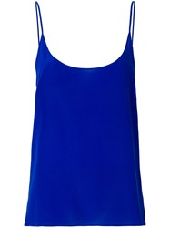 Capucci Fitted Camisole Top Blue