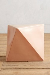 Anthropologie Calo Side Table Powder Pink