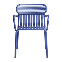 Petite Friture Week End Bridge Chair Blue