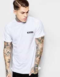 Ellesse Nep T Shirt With Back Logo Print White