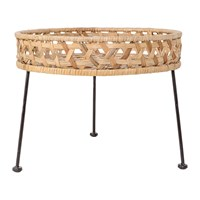 Bloomingville Natural Rattan Side Table