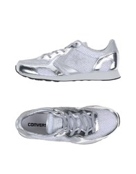 Converse Cons Footwear Low Tops And Trainers Women Silver