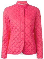 Save The Duck Giga Quilted Jacket Pink Purple