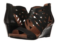 Sofft Mystic Black Cow Quilin Distressed Foil Suede Women's Sandals