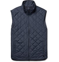 Dunhill Quilted Shell Gilet Navy