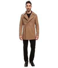 7 Diamonds Mauro Jacket Carmel Men's Coat Brown