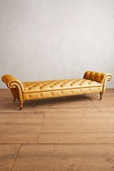 Anthropologie Premium Leather Olivette Daybed Lager