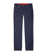Billionaire Formal Fit Embroidered Jeans Male
