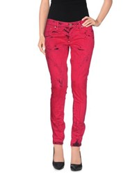 Gaetano Navarra Trousers Casual Trousers Women Fuchsia