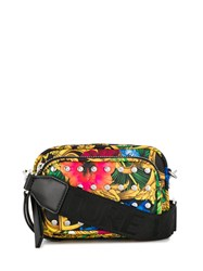 Versace Jeans Couture Jungle Print Studded Bag 60