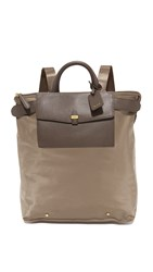 Tumi Foldable Weekend Backpack Khaki