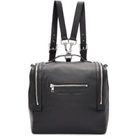 Mcq By Alexander Mcqueen Black Convertible Backpack