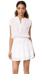 Rails Jolie Dress White Shadow Stripe