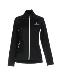 Peak Performance Topwear Sweatshirts Black