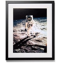 Sonic Editions Framed 1969 Apollo 11 Print 16 Black