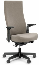 Knoll Remix High Back Office Chair Height Adjustable Beige
