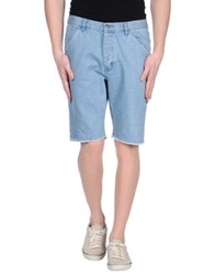 Cheap Monday Denim Bermudas Blue
