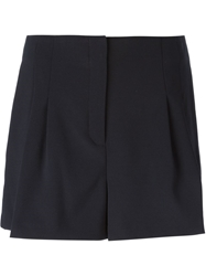 Michael Michael Kors Pleated Shorts Blue