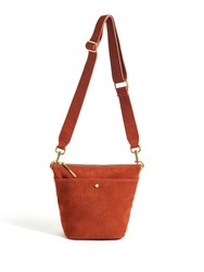 Jigsaw Mini Cameron Hobo Terracotta