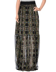 Marco Bologna Long Skirts Black