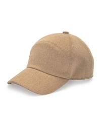 Loro Piana Storm System Cashmere Baseball Hat Golden Shade