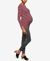A Pea In The Pod Maternity Skinny Pants Grey