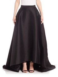 Carolina Herrera Hi Lo Ball Gown Skirt Black