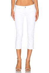 Rock Revival Johanna Crop White